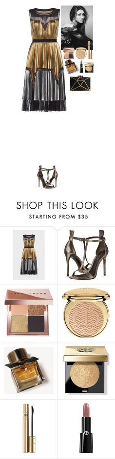 """""""Event"""" by eliza-redkina ❤ liked on Polyvore featuring BCBGMAXAZRIA, Rachel Zoe, Bobbi Brown Cosmetics, Christian Dior, Burberry, Dolce&Gabbana, Giorgio Armani, outfit, like and look"""