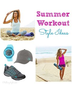 What to Wear for Your Summer Workout - Ideas and inspiration for stylish and affordable workout clothes How To Look Pretty, How To Look Better, Affordable Workout Clothes, Workout Style, Real Style, Health And Beauty Tips, Summer Fun, Fitness Fashion, Style Ideas