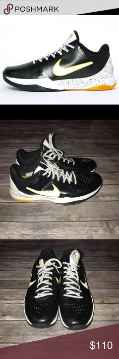 Nike Zoom kobe V 5 del sol Excellent used condition all marks shown above Bruce lee playoffs Nike Shoes Sneakers