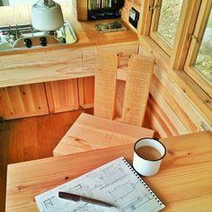 japan tiny house 008 600x600   Man in Japan Builds Micro DIY Tiny House on Wheels