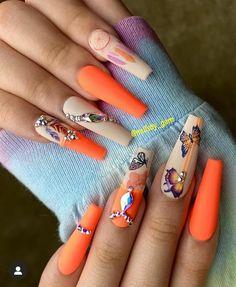 Manicure E Pedicure, Neon Nails, Class Ring, Nail Art, Empire, Beauty, Beautiful, Instagram, Fashion