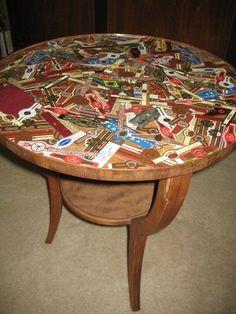 cigar band table | men cave, box and cigar boxes