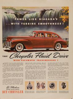 1941 Chrysler Fluid Drive