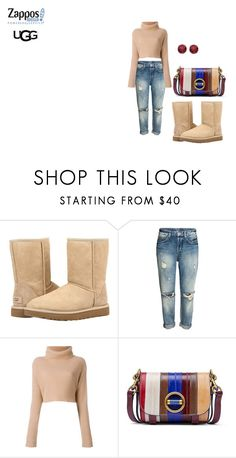 """The Icon Perfected: UGG Classic II Contest Entry"" by nadia-n-pow ❤ liked on Polyvore featuring UGG, Valentino, Tory Burch, BillyTheTree, ugg and contestentry"