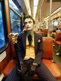 Character: Joker / From: DC Comics 'Batman' & 'Detective Comics' / Cosplayer: Anthony Misiano (aka Harley's Joker)