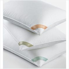 Charter Club Natural Firm Support White Down Standard Queen Bed Pillow $110