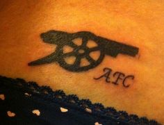 I need this tattoo! Arsenal FC <3
