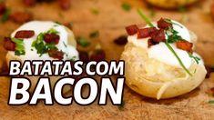 Como Fazer Batatas ao Murro com Bacon