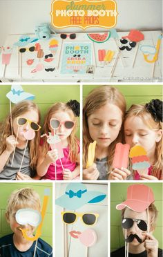 Sharing is Caring!3000DIY Summer Photo Booth How cute is THIS! Free Summer Photo Booth Printables! This would be great for throwing a party or just a fun day with your friends! In this article, this photographer designed some adorable photo booth props that you can download for free on her website. Check out the cutest …