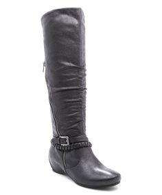 Black Shania Boot