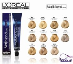 Loreal Blonde Hair Color Chart 164134 the 15 Best Loreal Majiblond Ultral Hi Lift Hair Color Images On Loreal Hair Color Blonde, Loreal Hair Dye, Loreal Hair Color Chart, Dyed Blonde Hair, Blonde Color, Hair Dye Colors, Cool Hair Color, Majirel Cool Cover, Blonde Grise