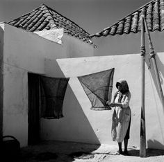 Artur Pastor: Algarve, Santa Luzia. Décadas de 40/60