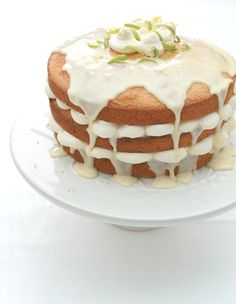 Lemon Drizzle Layer Cake - a perfect cake for a special occasion or just an afternoon treat!