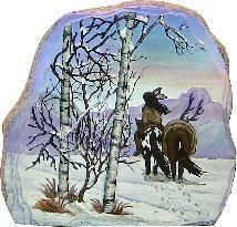 Native American Pack Horse Rock Ready to Paint Ceramic Bisque   eBay