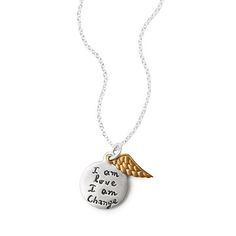 Look what I found at UncommonGoods: I am Love I am Change Necklace for $58 #uncommongoods