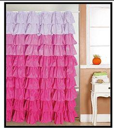 Flamenco Ruffle Shower Curtain (Multi Color Pink) Spring ... https://www.amazon.com/dp/B0118NFPFW/ref=cm_sw_r_pi_dp_x_WQ6nyb986GT82