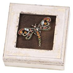 I pinned this Dragonfly Box from the Wilco event at Joss and Main!