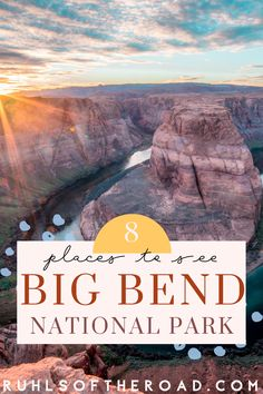 Big Bend National Park is one of the best National Parks & places to go in Texas. Visit Texas & experience Texas camping and hiking. Hike Emory Peak, Lost Mine Trail, South Rim Trail, Window Trail, sit in the Big Bend hot springs, swim in the Rio Grande & stargaze at night. Big Bend has the best primitive camping of any USA national park. Use our Big Bend guide for fun Texas adventures & Texas vacation ideas. National parks are the perfect place to get outdoors, hike & camp.