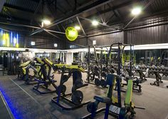 Fitness And Pilates – The Fitness Toolbox Club Design, Gym Design, Gym Center, Dream Gym, Gym Lighting, Gym Interior, Basement Gym, Gym Room, Crossfit Gym