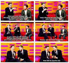 The Graham Norton Show - Jack Whitehall begs Benedict Cumberbatch for the secret to Sherlock's survival.