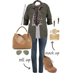 A fashion look from March 2014 featuring Coldwater Creek tops, H&M jeans and Jessica Simpson ankle booties. Browse and shop related looks.