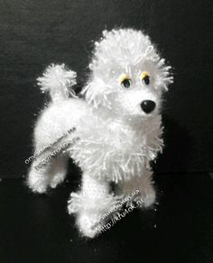 Knitted Toy - Poodle
