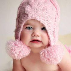 06e94dc306e Angora Fizz Pink Beanie. Pink BeaniesBaby Beanie HatsKnit ...
