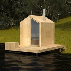 sauna concept, design by sTeam