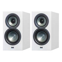 """Elac: Uni-Fi BS U5 Slim 5 1/4"""" Bookshelf Speakers - White (BSU5-SW)"""