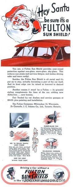 Fulton Sun Shield - 1948.