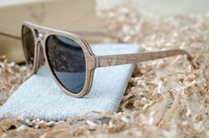 Extraordinary premium quality aviator style wooden sunglasses from CityWolf. Wear our unique sunglasses and be prepare for compliments! :). Be fashionable! Dont be a sheep.. Be the wolf! The best gift idea to your love, friend, family or to YOURSELF! We can personalized the sunglasses by your requirements, just write us BEFORE ordering!! All sunglasses are manufactured using high-quality stainless steel hinges with springs, for the best fit and maximum comfort for MEN and WOMEN! Thin…