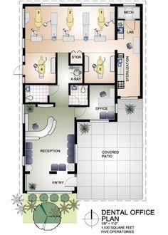 Small Dental Office Design | Dental Office Design Floor Plans – Home Office Design Hints To ...