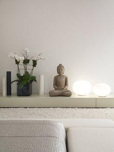 living room, buddha, awe corner