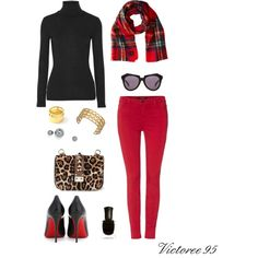 """Wendy's 'Leo Plaid' Inspired Look!"" by victoree95 on Polyvore"