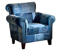 "Fotel ""Denim"", 90 x 80 x 90 cm"