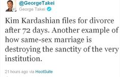 14 Steps That Will Evolve Your Views On GayMarriage    Step 5: Let go of the idea that same-sex marriage is ruining the sanctity of marriage argument.