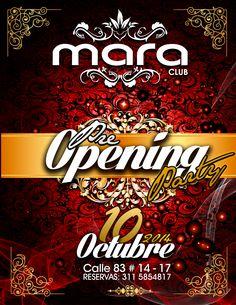 PRE OPENING CLUB MARA BOGOTÁ