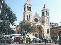 An old beautiful building , #Latin_church in #Lattakia_city