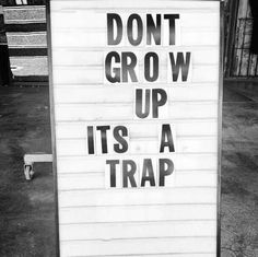Trap of life