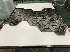 Modern Design Laser Cut Partition Screen Restaurant Wall Panel Screen Marble Screen - China Metal Screen and Room Divider price | Made-in-China.com Folding Partition, Folding Screen Room Divider, Partition Screen, Room Divider Walls, Room Screen, Stainless Steel Sheet Metal, Stainless Steel Screen, Steel Gate Design, Laser Cut Screens