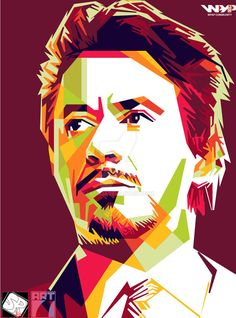 Tony Strak in WPAP by Lexia23 on DeviantArt