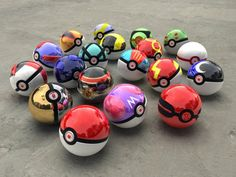 Pokemon:Coleccion de Pokebolas