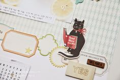 label layout | by Jina B