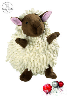 Snugly Sheep Dog Toy - Muddy Mutts and Pocket Pups Luxury Christmas Presents, Dog Toys, Snuggles, Sheep, Your Pet, Blankets, Collars, Pup, Teddy Bear