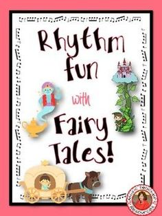 Music Activities: Music Rhythm Worksheets - Fun with Fairy Tales Kindergarten Music, Preschool Music, Preschool Literacy, Music Activities, Preschool Lessons, Primary Lessons, Primary Music, Music Worksheets, Piano Teaching