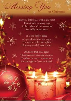 Mama-It's the first Christmas we have not celebrated in our home. I think of how magical you made each Christmas. I miss you. Missing Loved Ones, Missing My Son, Merry Christmas In Heaven, Grief Poems, Loved One In Heaven, Heaven Quotes, Heaven Poems, Miss You Mom, Missing You Quotes