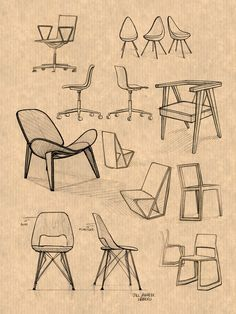furniture sketch Design sketch furniture 27 Ideas for 2019 Drawing Interior, Interior Design Sketches, Industrial Design Sketch, Sketch Design, House Design Drawing, Drawing Furniture, Chair Drawing, Furniture Sketches, Home Decor Furniture