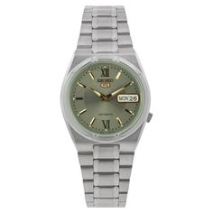 Seiko Mens SNK125 Stainless Steel Analog with Grey Dial Watch ** For more information, visit image link.