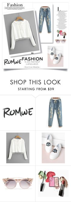 """""""Eyelet Lace Up Stripe Trim Hoodie"""" by amiraaa-k ❤ liked on Polyvore featuring Jimmy Choo and romwe"""