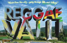"""Reggae Valli"" flyer 2013"